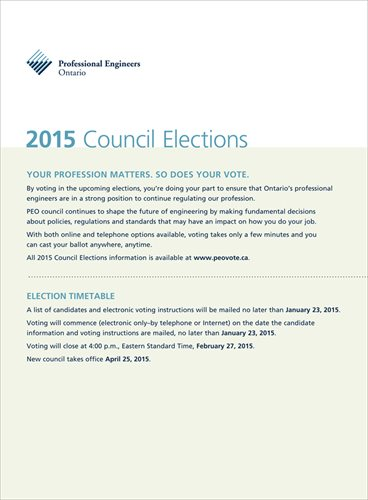 2015 PEO Council Election